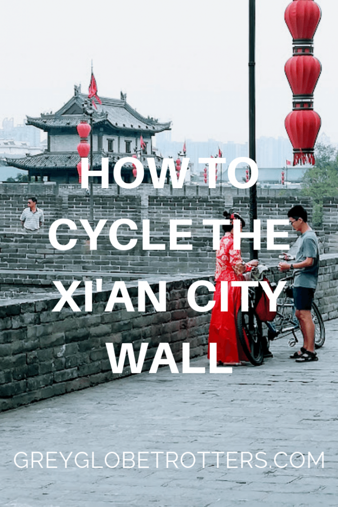 Our Xi'an Report on How to Cycle the City Wall