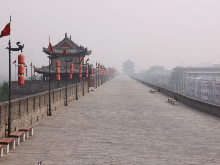 Xi'an Report – Cycling the City Wall