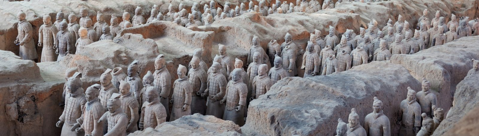 Image of the Terracotta Warriors at Xi'an