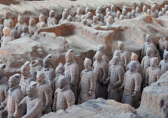 Visiting the Terracotta Warriors min