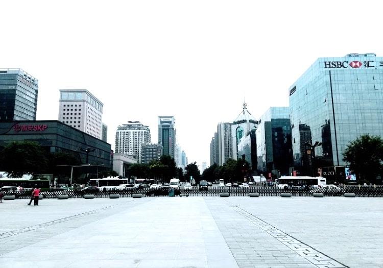 Xian skyscrapers min