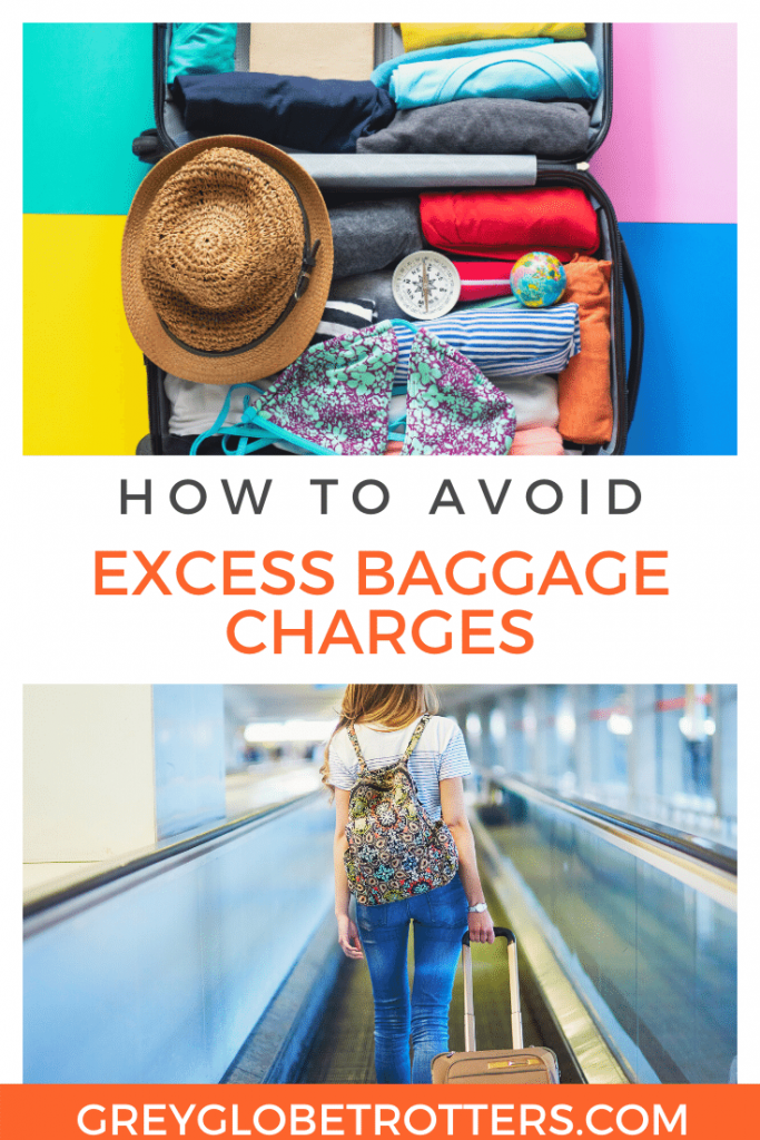 AVOID EXCESS BAGGAGE CHARGES
