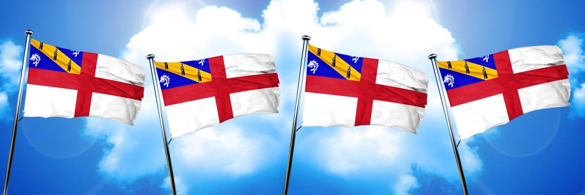 Herm Island Flag
