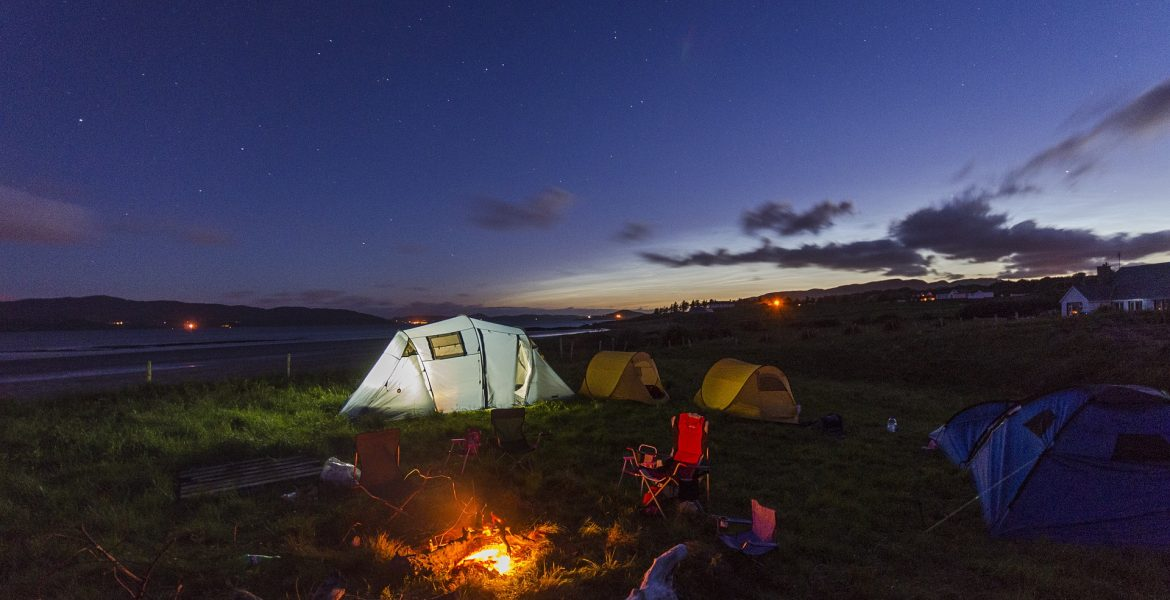 how to make the most of camping in the rain