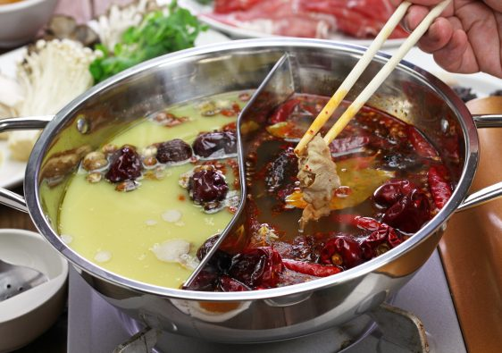 Spicy Hot Pots in China