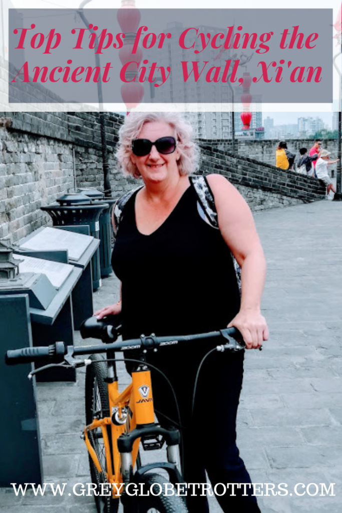 Cycling the Old City Wall Xian