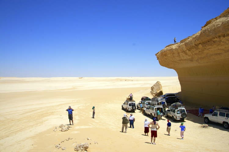 Taking a sand safari is one of the best of Egypt's tourist attractions