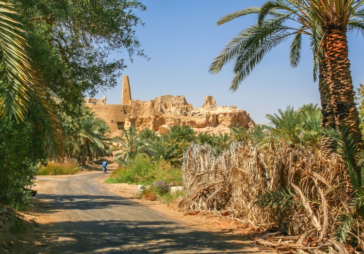 One of the must-see Egypt tourist attractions in Siwa Oasis