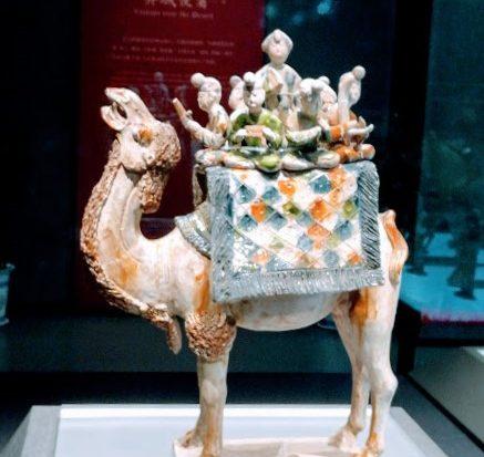 Bactrian Camel Artefact, Shaanxi History Museum, Xian