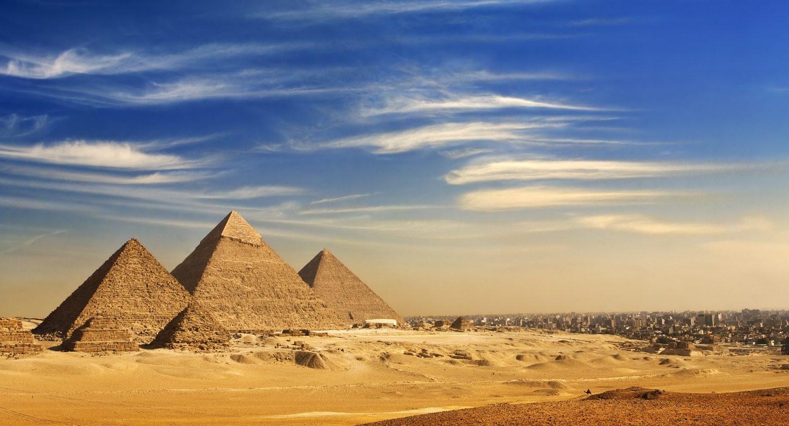 Image othe pyramids at giza