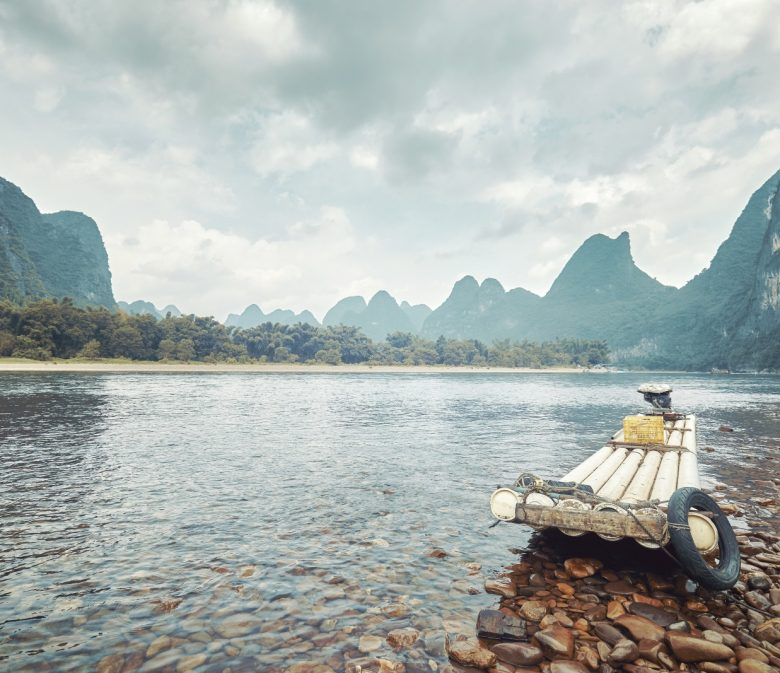 Li River China. Grey Globetrotters header image
