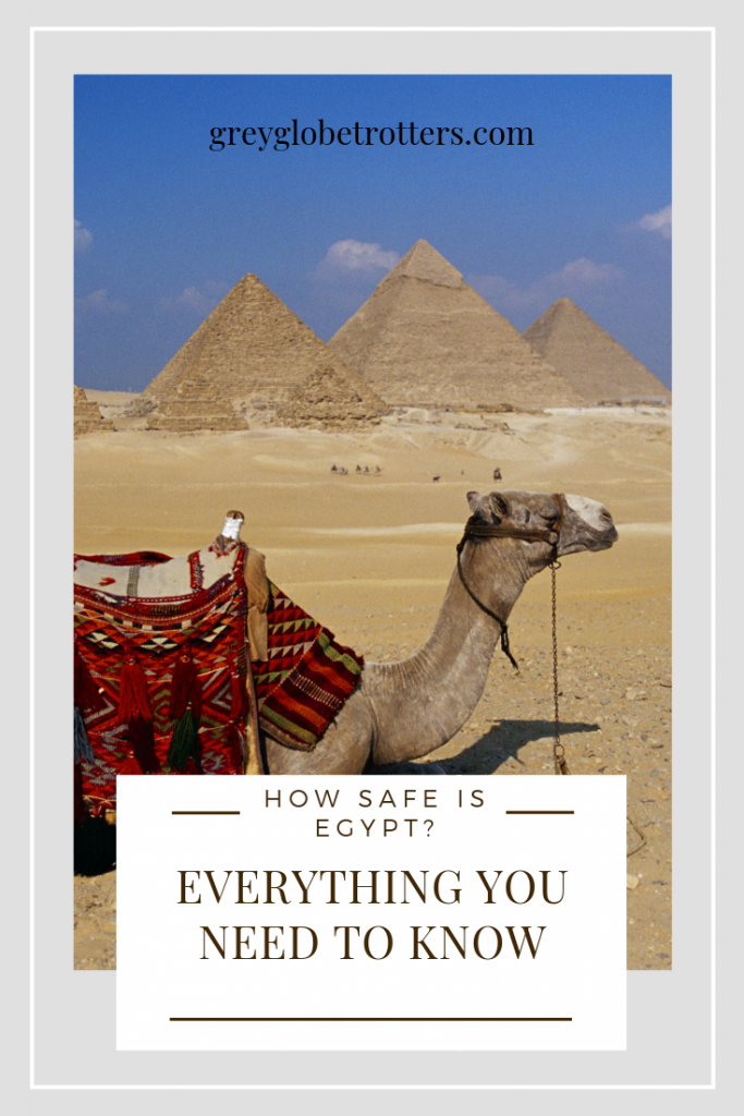 Travel tips for women traveling solo to Egypt - watch out for scammers near the pyramids