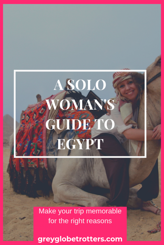 Complete Travel Tips for Women Traveling to and in Egypt - wear the right clothes!