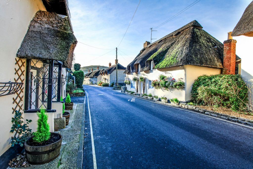 Moments away from Dorset's stunning Jurassic Coast are breathtakingly pretty little villages