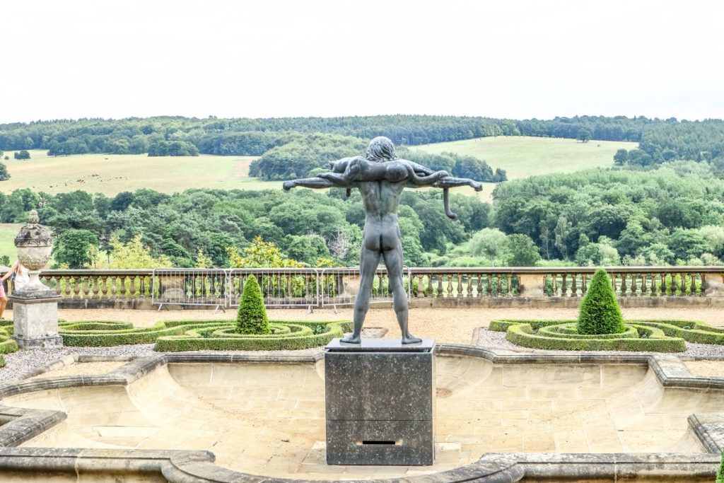 Visiting Harewood House Bronze