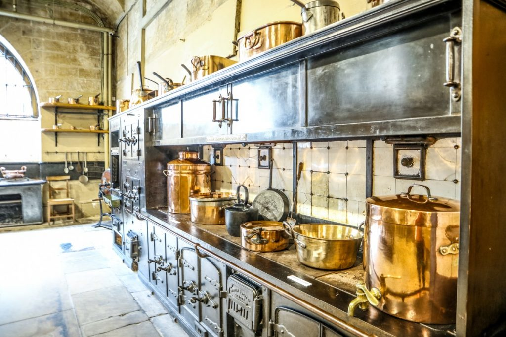 The splendid kitchens at Harewood House, Yorkshire - Grey Globetrotters