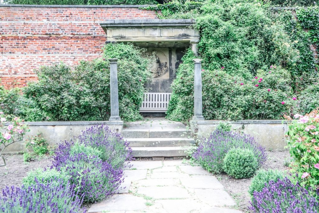Visiting Harewood House - A Grand Yorkshire Day Out - Grey Globetrotters. Just outside the Walled Garden