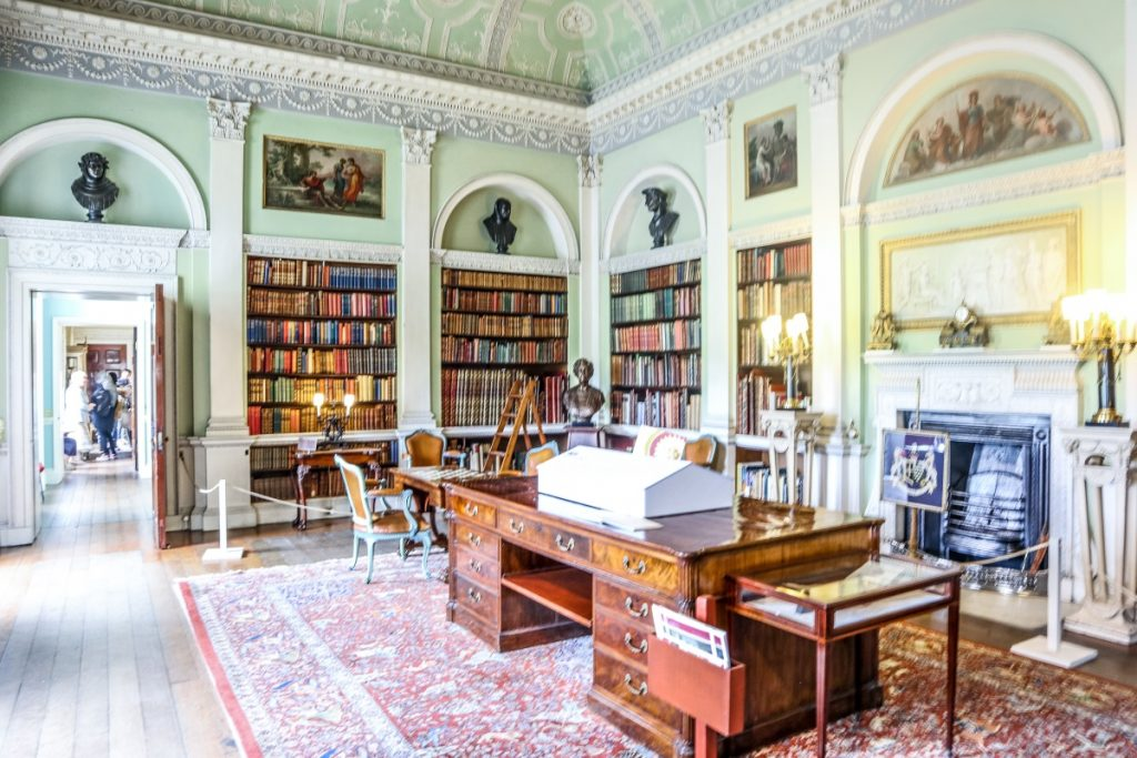 Visiting Harewood House - Grey Globetrotters. The Library