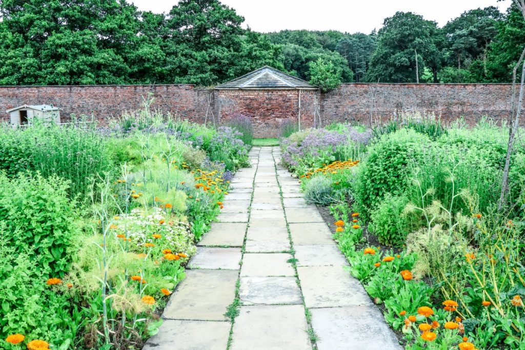 Visiting Harewood House - A Grand Yorkshire Day Out - Grey Globetrotters. The Walled Garden