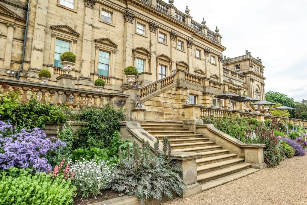 Harewood House is one of the most Instagrammable places in Leeds. West Yorkshire