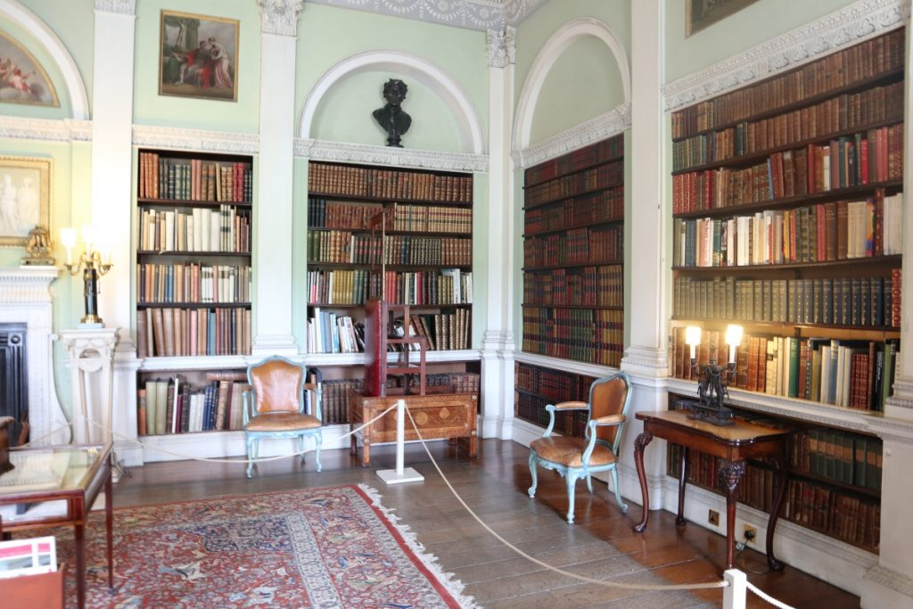 Visiting Harewood House - A Grand Day Out - Grey Globetrotters. The Library