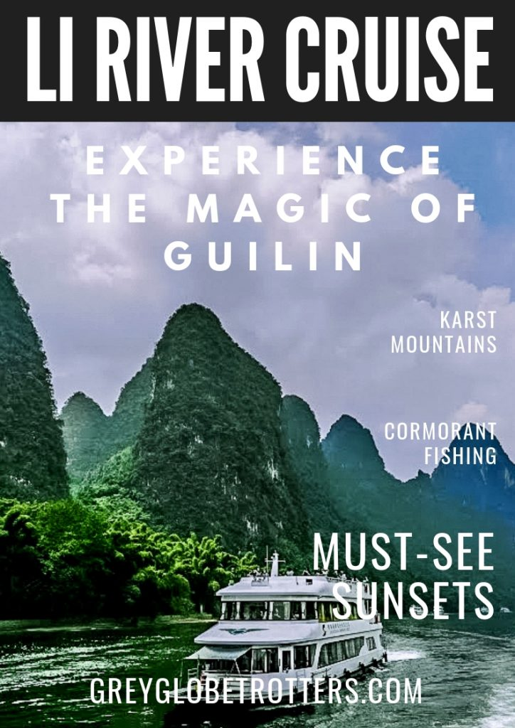 Experience the magic of China with with a river cruise in Guilin