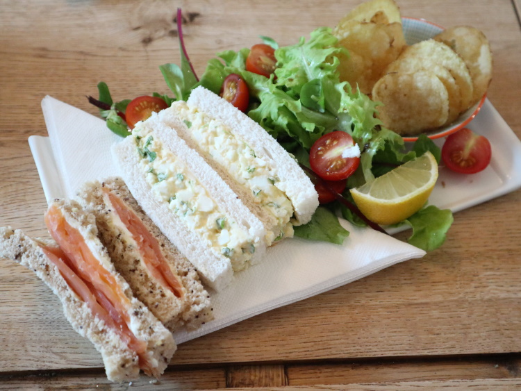 Delicious sandwiches at 10 the Coffee House, Haworth, Yorkshire | GreyGlobetrotters.com
