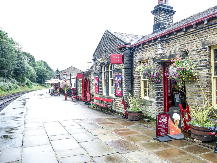 Oxenhope Station On the Way to The Bronte Sisters Home