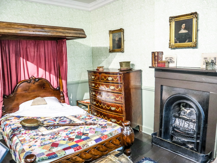 Patrick Bronte's bedroom at the Bronte Parsonage | GreyGlobetrotters.com. Places to see in Yorkshire