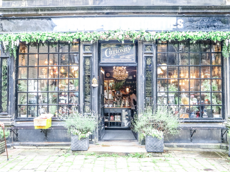 The Old Apothecary, Haworth, West Yorkshire now the Cabinet of Curiosities | GreyGlobetrotters.com