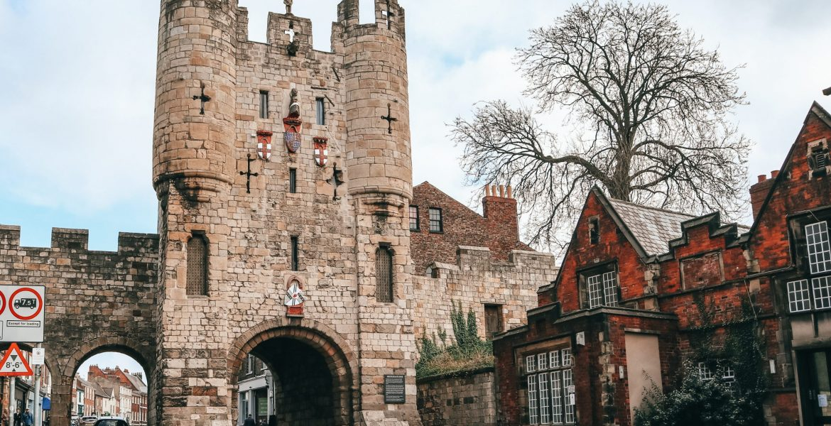 City Gate in York, UK