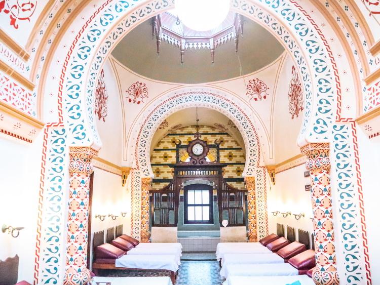 The splendid Turkish Baths in Harrogate, North Yorkshire, UK