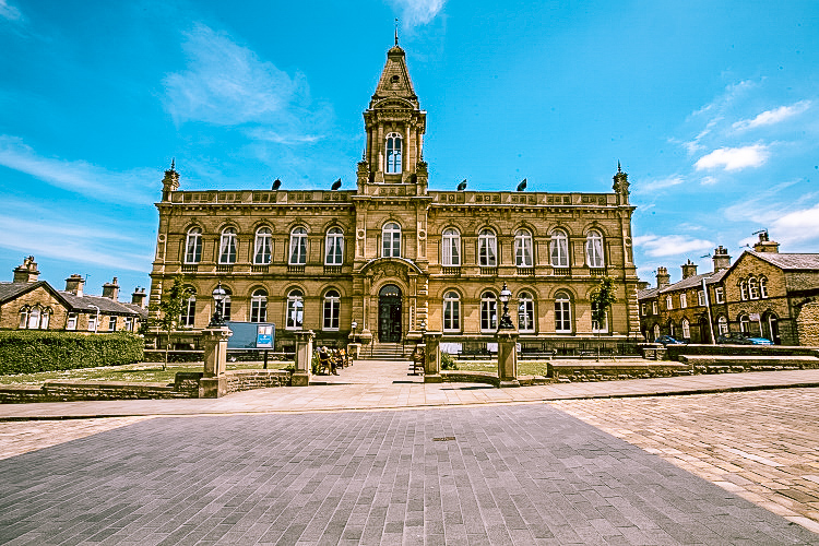 Victoria Hall, Saltaire. This UNESCO World Heritage Site is one of the best day trips from York you can have.