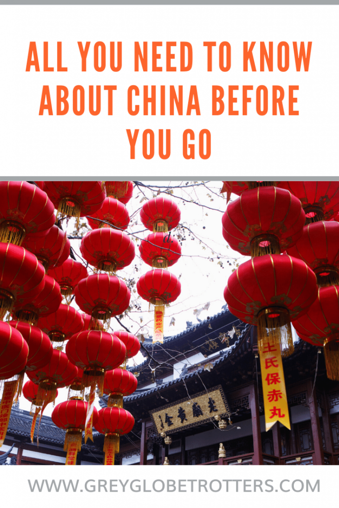 All you need toknow about China before you set off for your China vacation