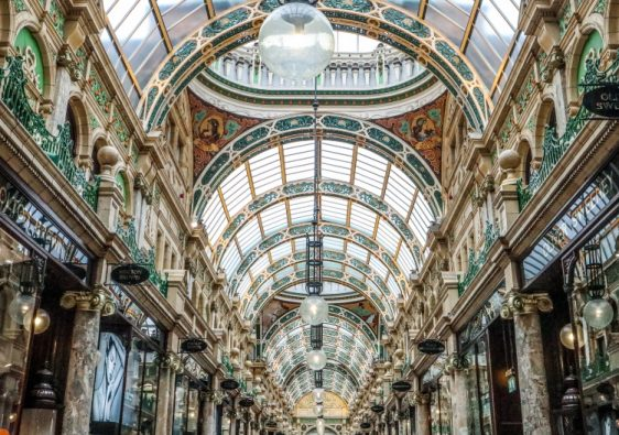 County Arcade is one of the most instagrammable places in Leeds