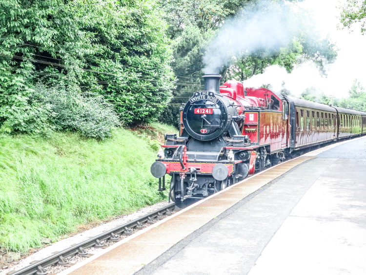 Keighley Worth Valley Railway Steamtrain