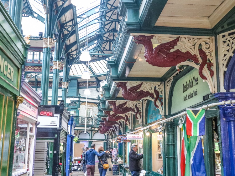 Leeds Markets are some of the most instagrammable spots in Leeds