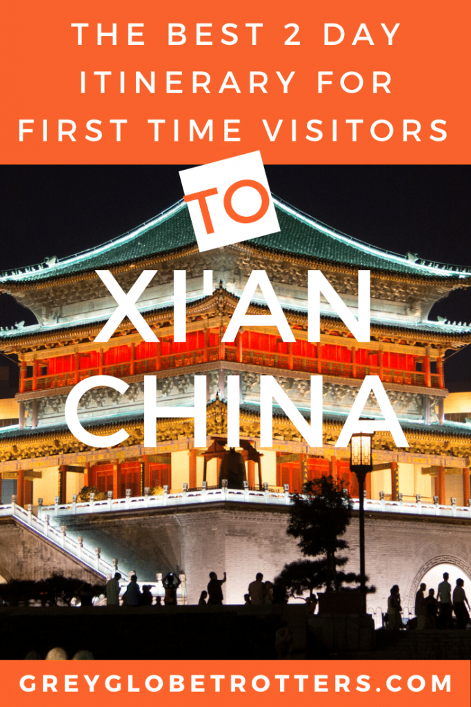 The best 2 day itinerary for first time visitors to Old Xian City, China | Grey Globetrotters