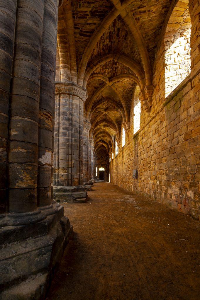 Kirkstall Abbey Interior Leeds UK