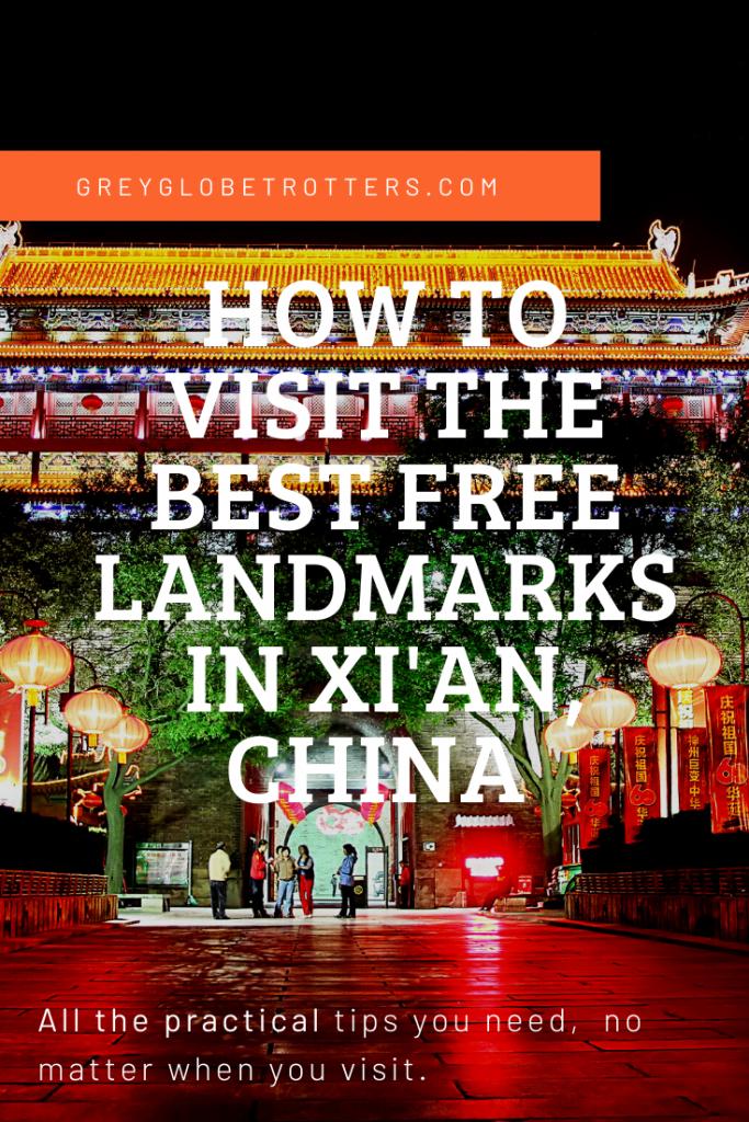 Best free Xian Landmarks 2