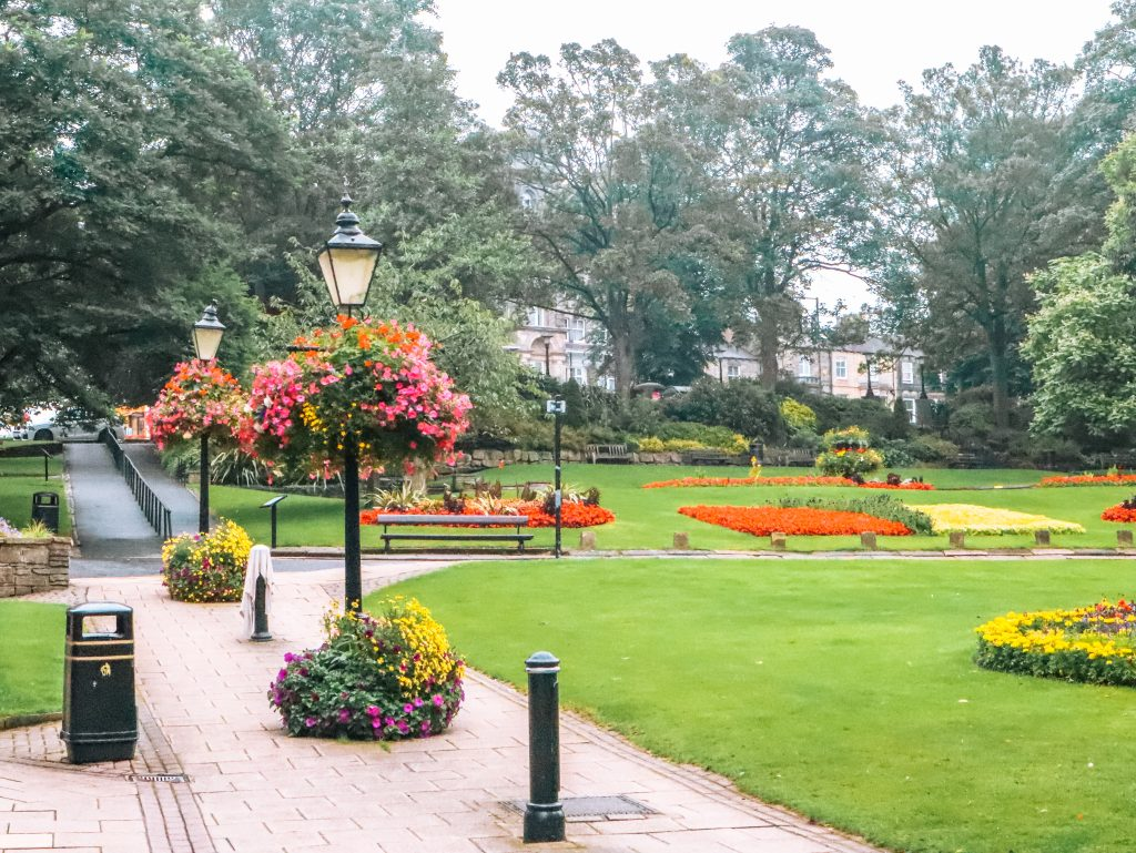 The parks and gardens of Harrogate, UK are one of the best things to do in Harrogate