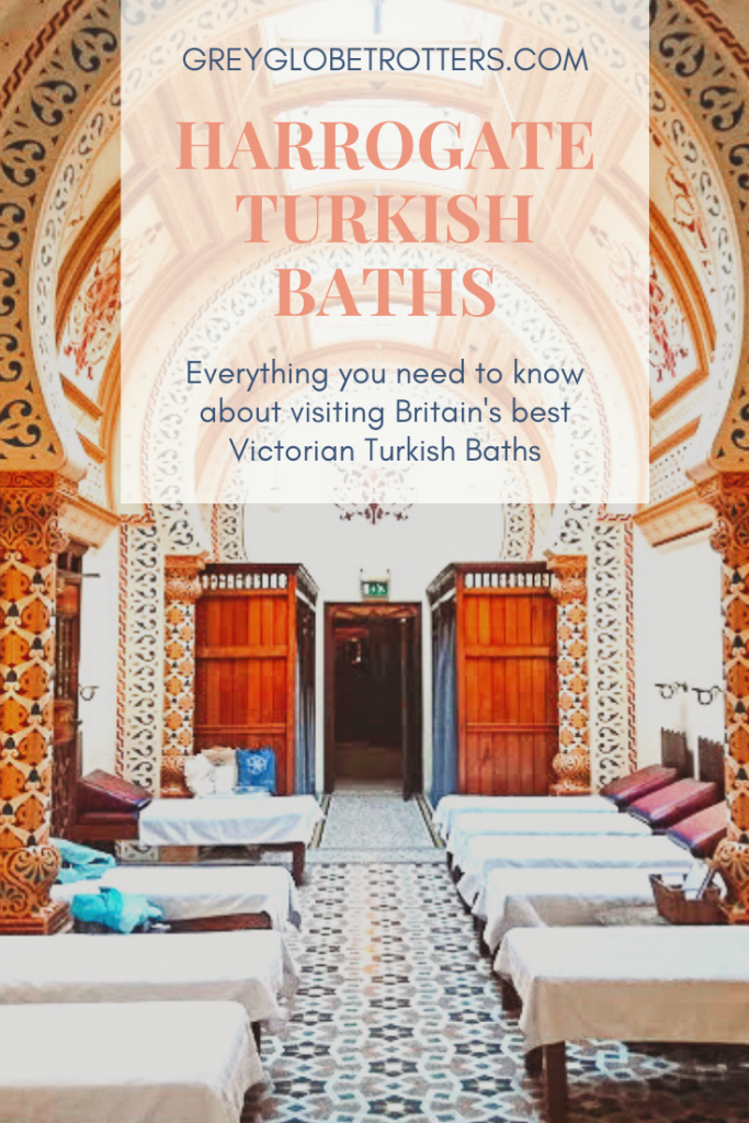 Everything you need to know to help you plan a visit to the Victorian Turkish Baths in Harrogate, Yorkshire UK