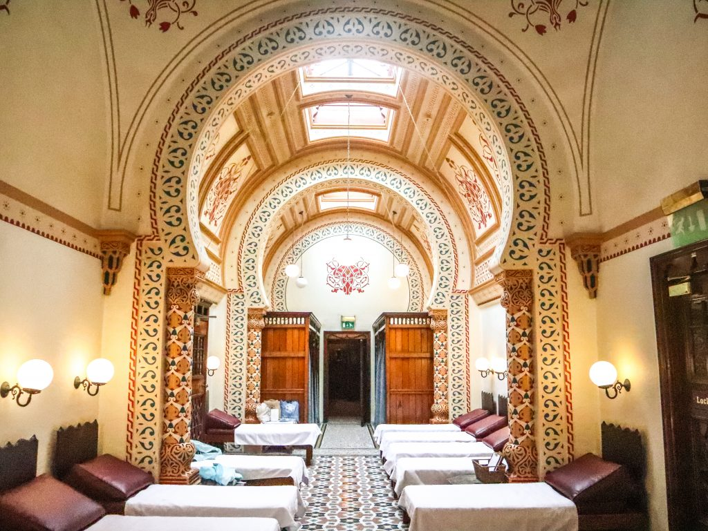 One of the best things to do in Harrogate is to visit the spectacular Turkish Baths