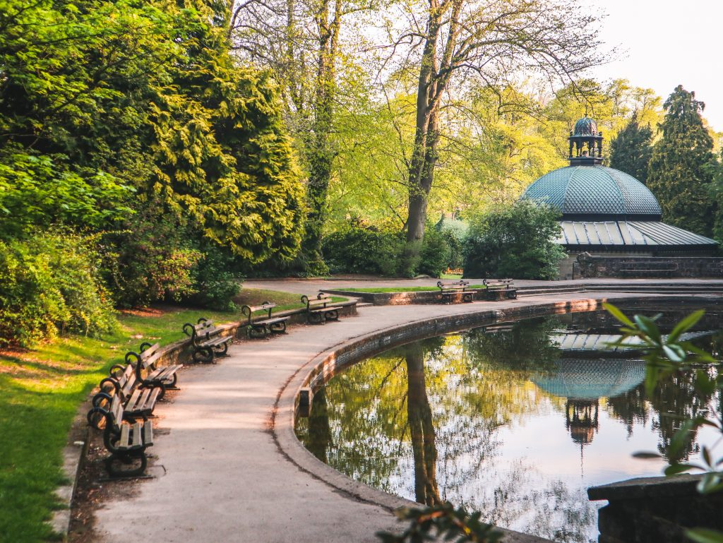 Visiting the Valley Gardens is one of the best things to do in Harrogate, Yorkshire