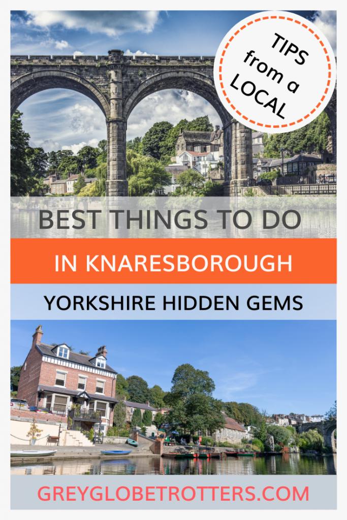 Visit the picturesque North Yorkshire village of Knaresborough
