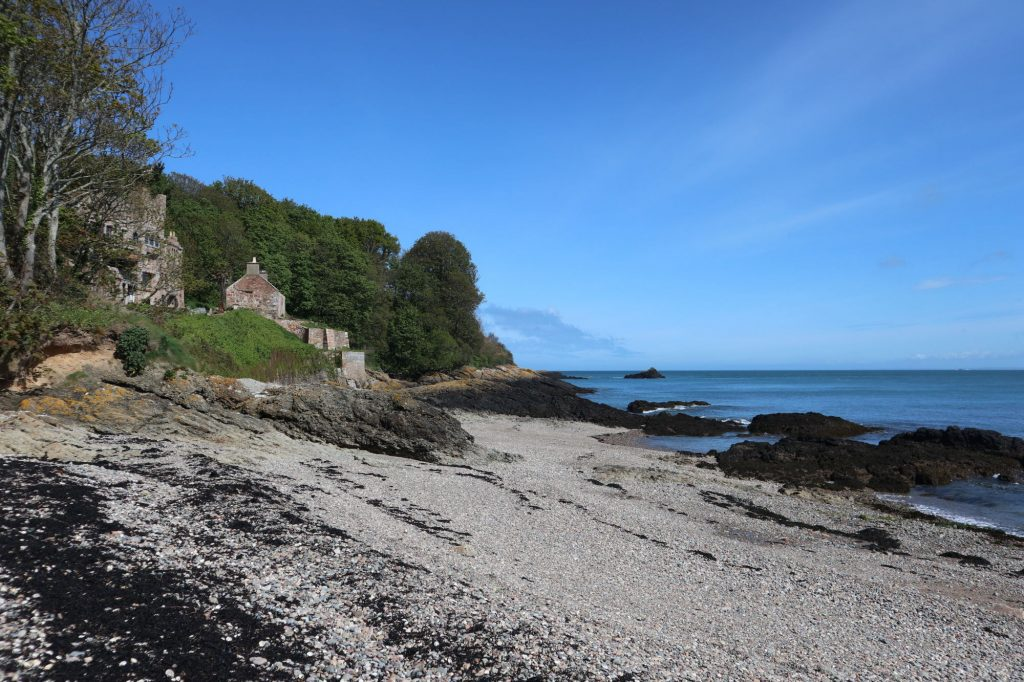 Often deserted, Fliquet Bay is one of the quietest beaches in Jersey