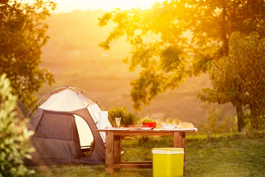 Frugal camping supplies