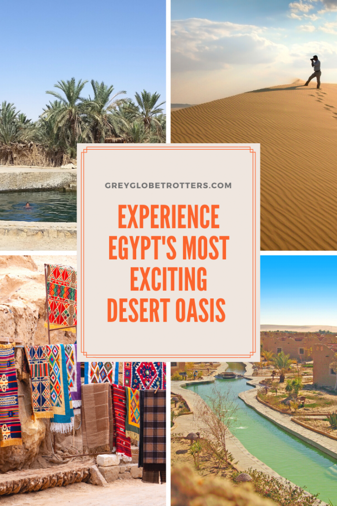 Hidden deep in the Western Desert, the thriving desert oasis town of Siwa has many secrets to share. Visit to explore the unique architecture, bathe in pools used by Cleopatra or take a jeep safari into the desert