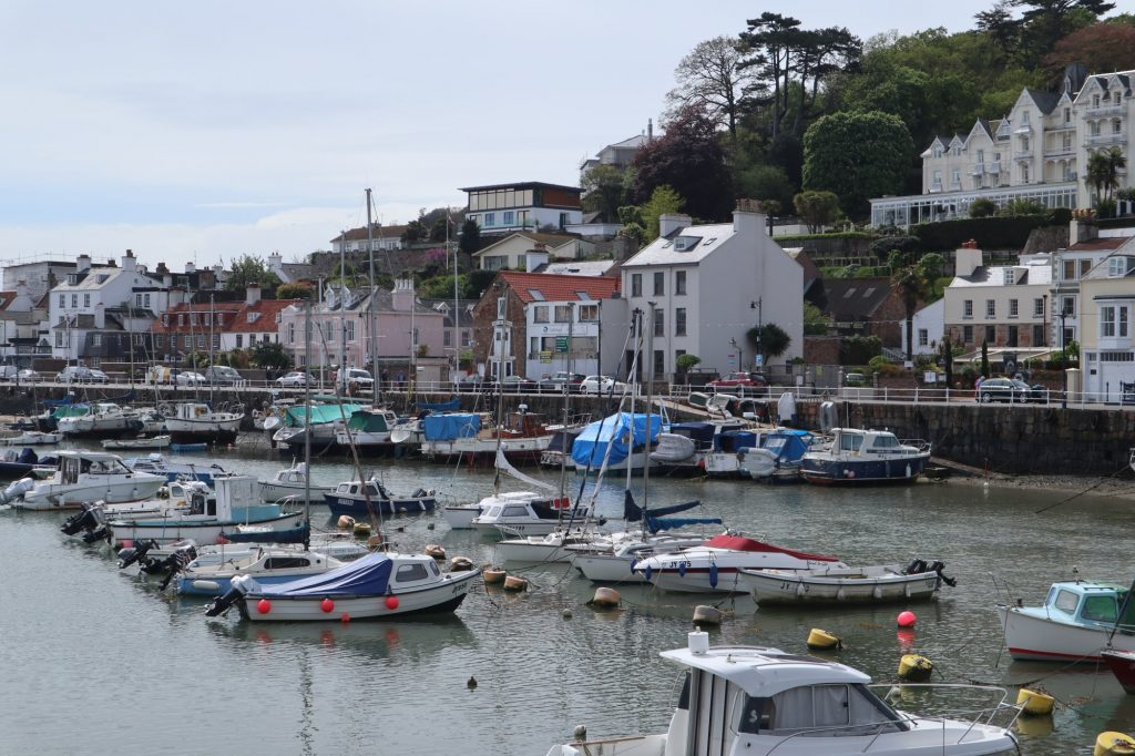 Fashionable St Aubin's at the heart of Jersey