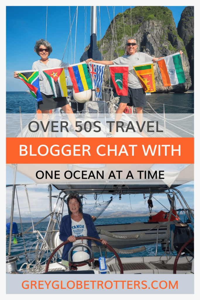 Travel Chat with Lisa from One Ocean at a Time - An over 50s travel blog
